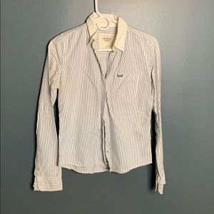 Abercrombie & Fitch striped button down